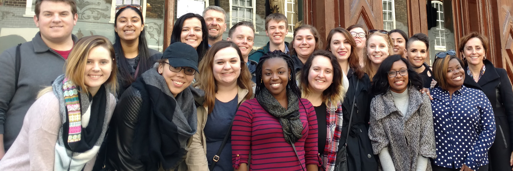 FSPH Students Study Abroad in London