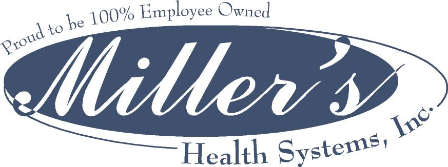 Miller's Health Systems Logo