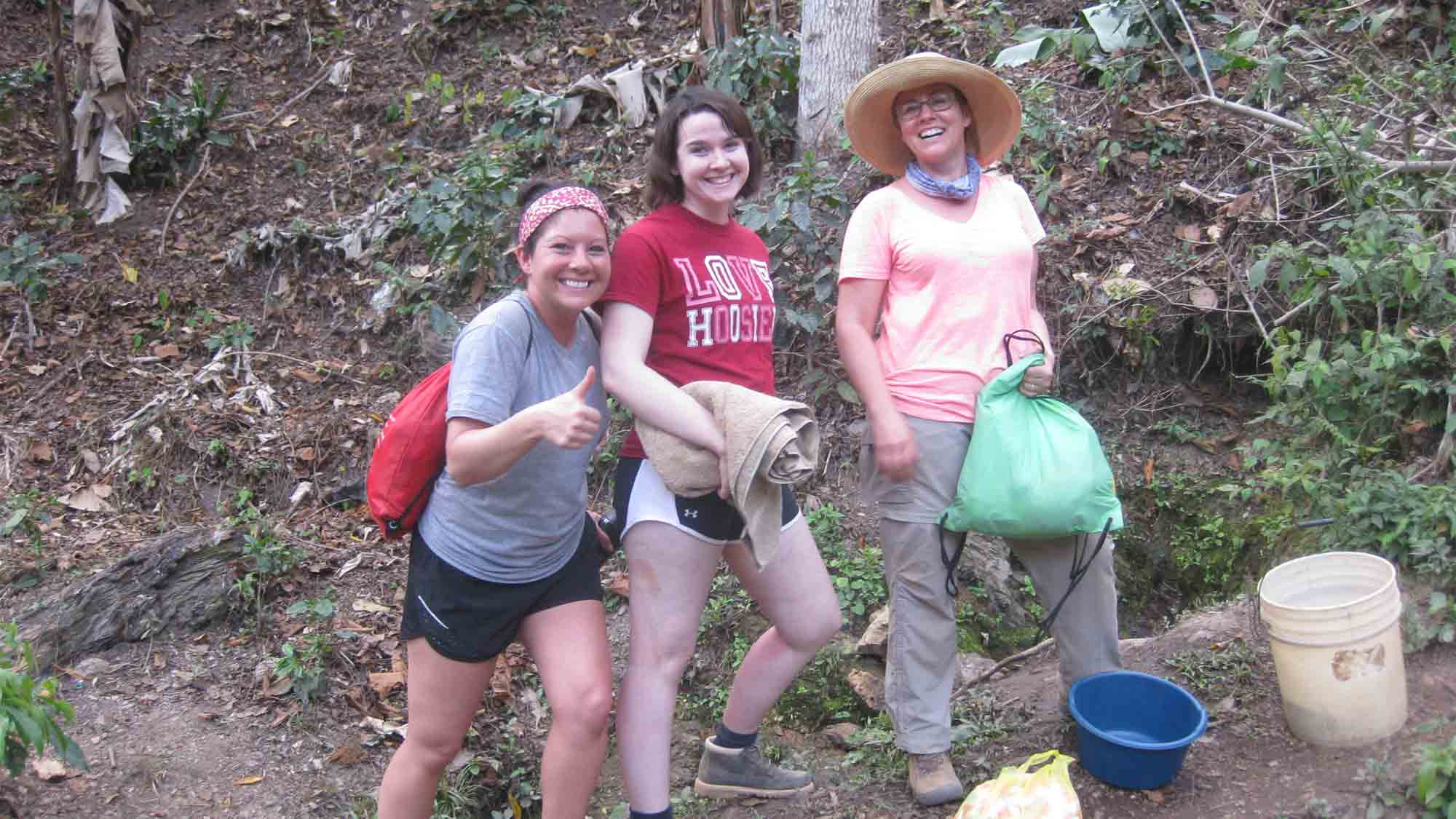Study abroad students in Nicaragua