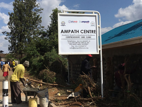 New Ampath Center in Kenya