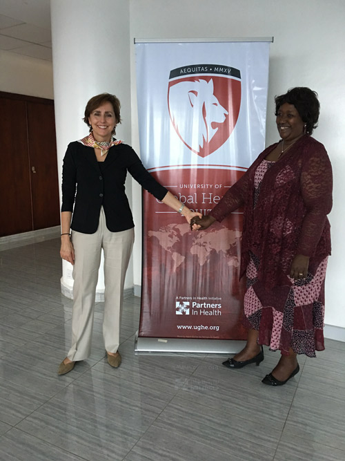 Dr. Babich Visits Kenya University of Global Health