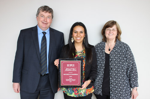 Michelle Ramirez Receives Research Award